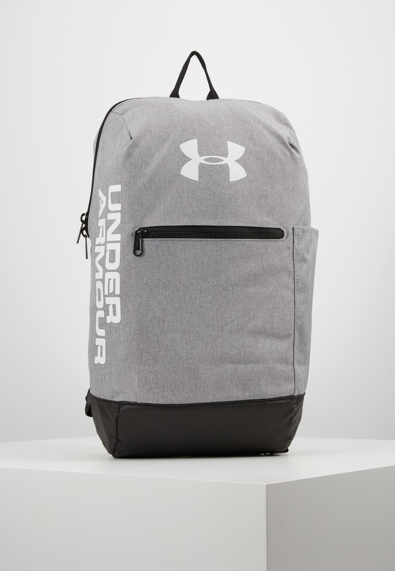 Under Armour - PATTERSON BACKPACK - Tagesrucksack - steel medium heather/black/white