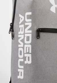 Under Armour - PATTERSON BACKPACK - Tagesrucksack - steel medium heather/black/white - 4
