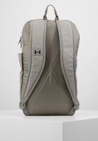 Under Armour - PATTERSON BACKPACK - Reppu - gravity green/black - 3