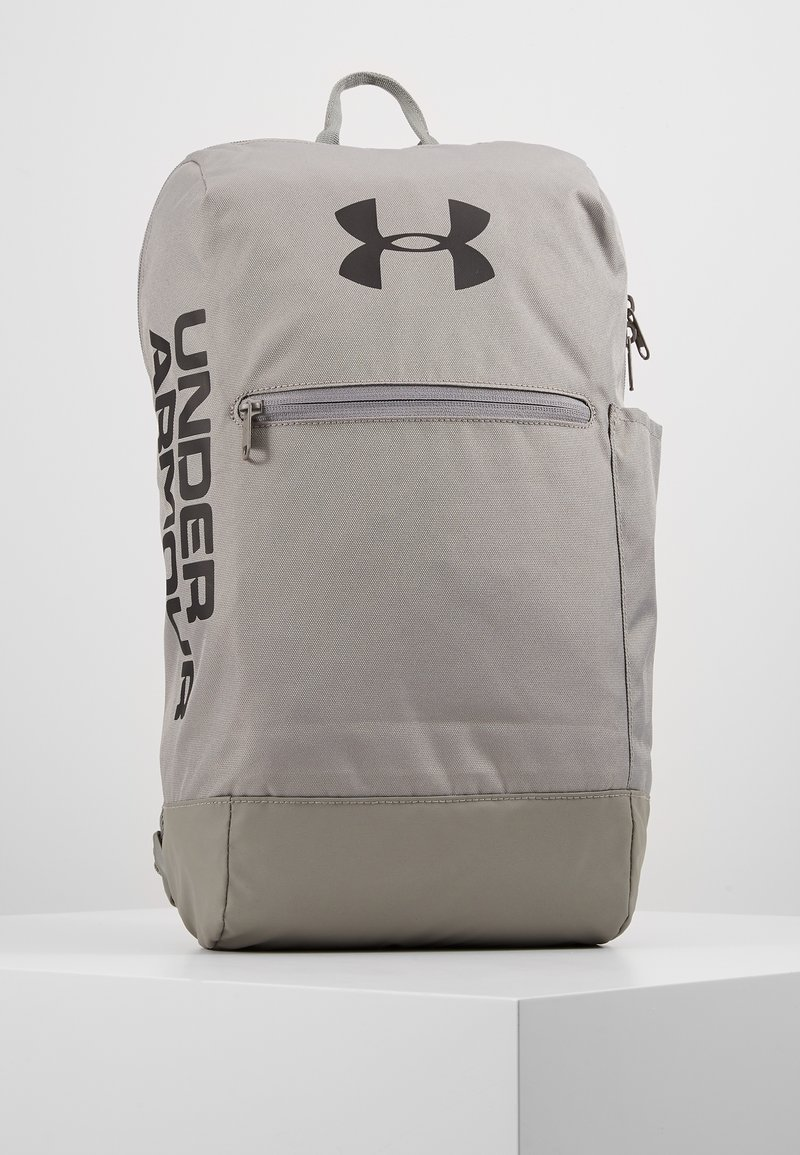 Under Armour - PATTERSON BACKPACK - Reppu - gravity green/black