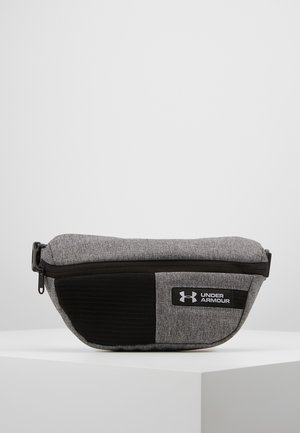WAIST BAG - Saszetka nerka - graphite medium heather/black/white