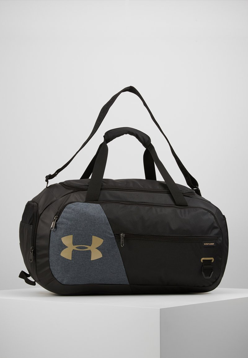 Under Armour - UNDENIABLE DUFFEL 4.0 SM - Treningsbag - black/metallic gold