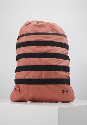 SPORTSTYLE SACKPACK - Drawstring sports bag - cedar brown/black/black