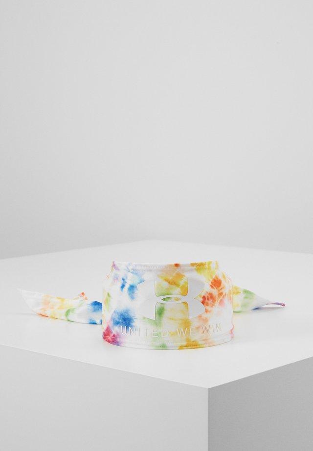 PRIDE UNISEX TIE - Hodetørkle - multicolor/white