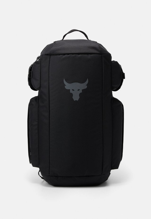PROJECT ROCK DUFFLE - Bolsa de deporte - black