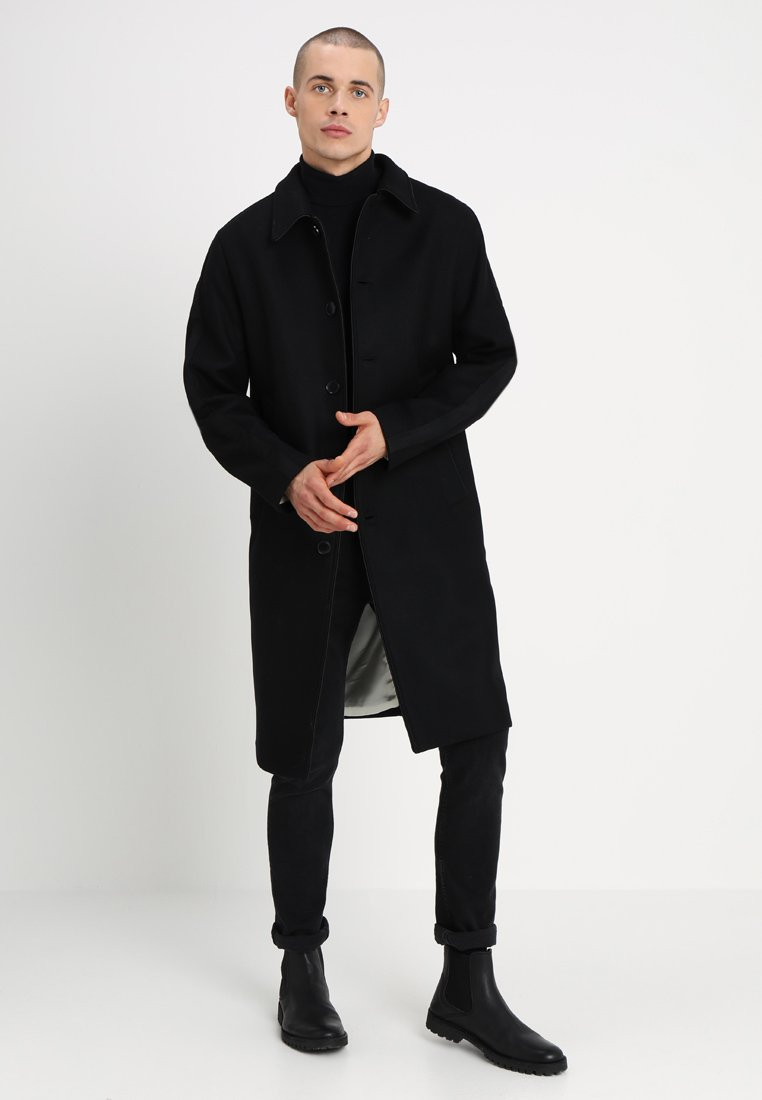 Uniforms for the Dedicated - TRACK COAT - Classic coat - black