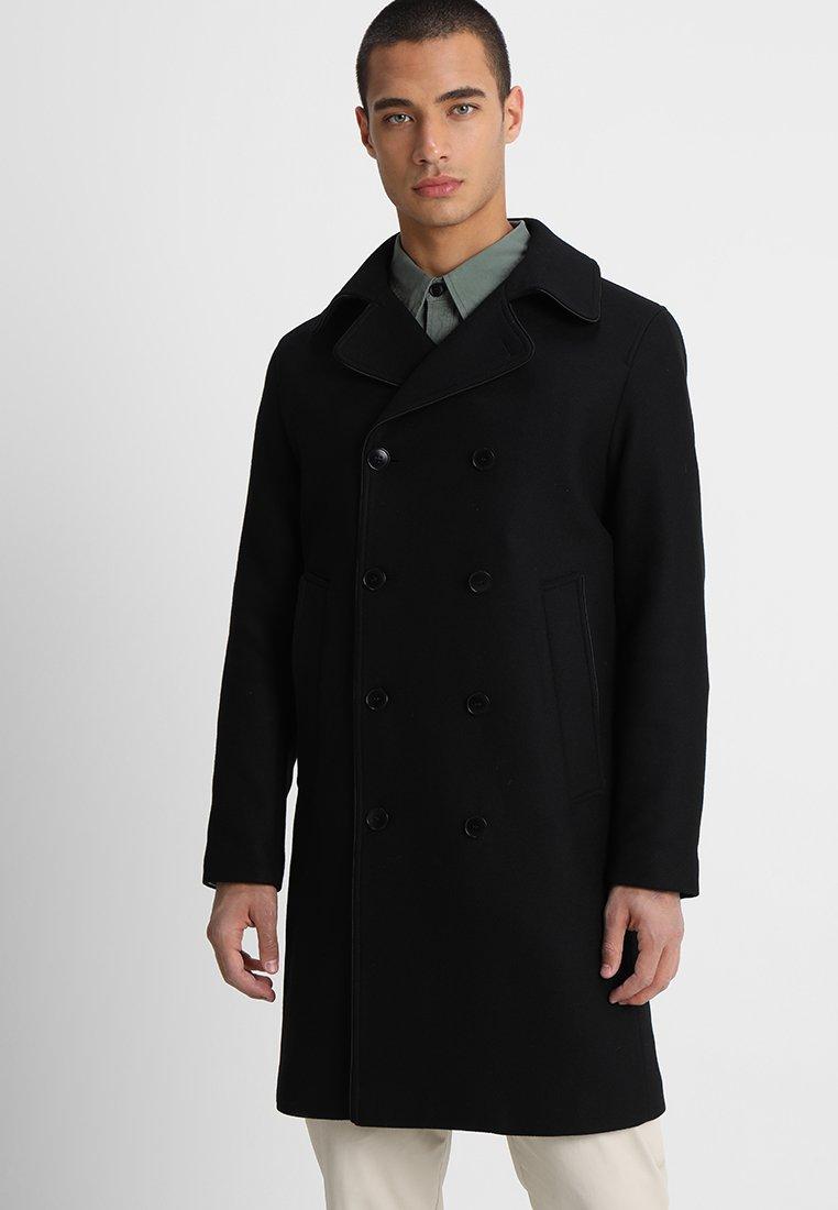 Uniforms for the Dedicated - PEA COAT - Classic coat - black