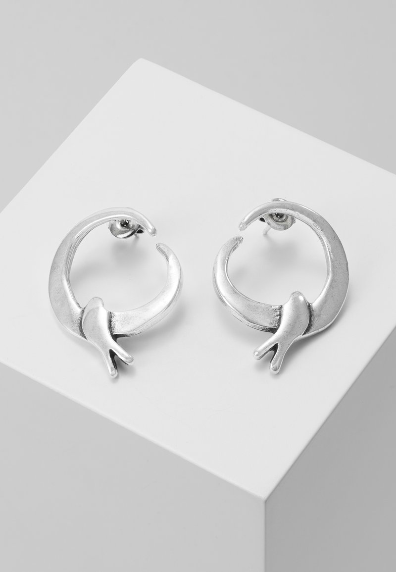 UNOde50 - COME FLY WITH ME EARRING - Earrings - silver-coloured