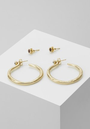 MY LUCK MEDIUM HOOP EARRING SET - Pendientes - gold-coloured
