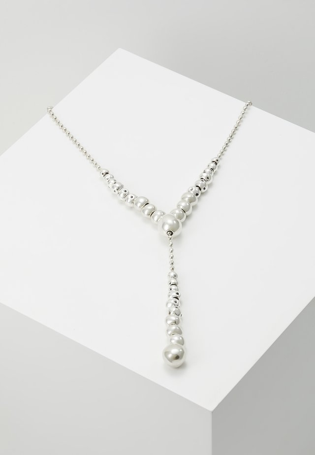 MY ENERGY LONG NECKLACE - Necklace - silver