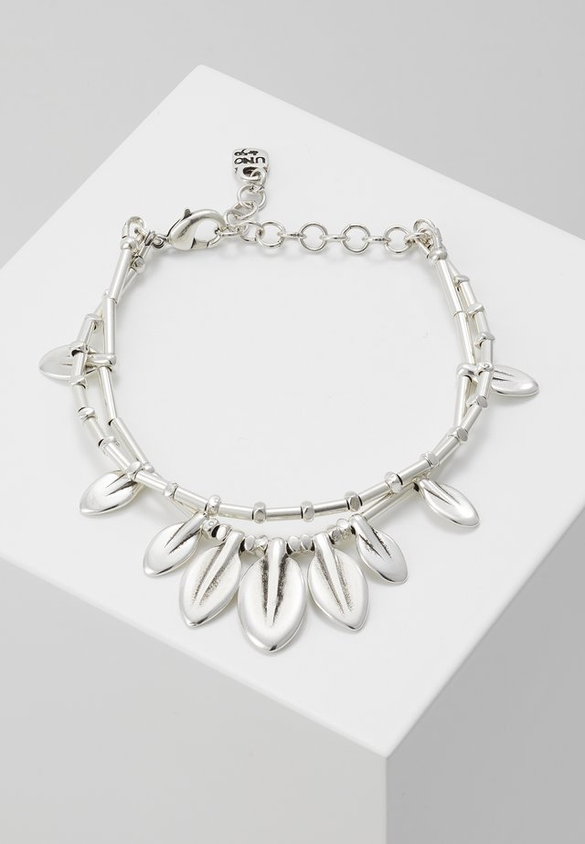 MY NATURE FEATHER BRACELET - Armband - silver-coloured