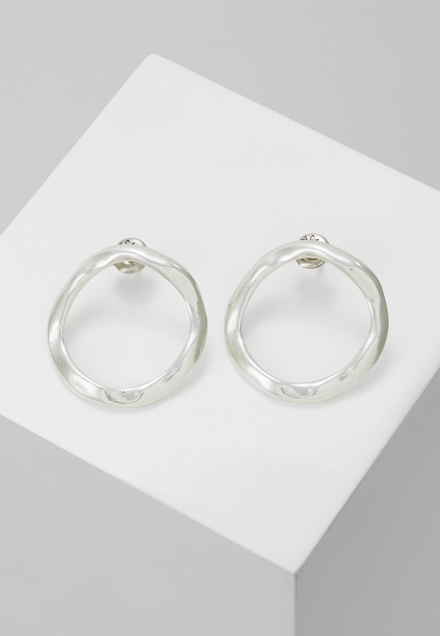 MY ENERGY HOOP EARRING - Oorbellen - silver-coloured