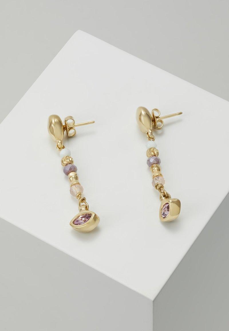 UNOde50 - MY LUCK CHARM DROP EARRING - Earrings - rosa