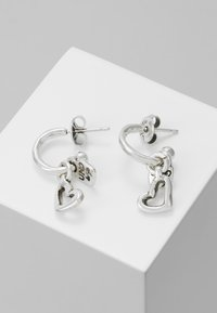 UNOde50 - MY LUCK HEART DROP EARRING - Earrings - silver-coloured - 0