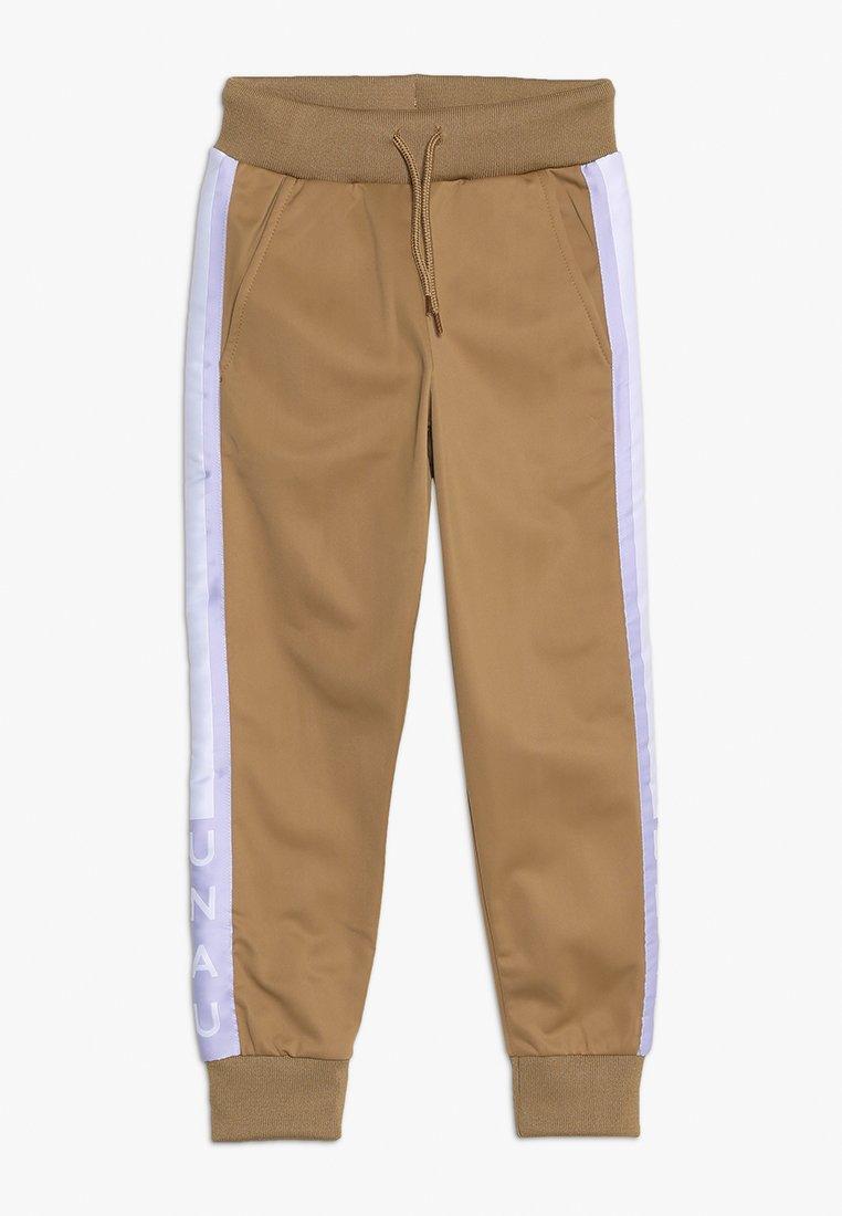 Unauthorized - OSCAR PANTS - Spodnie treningowe - otter brown