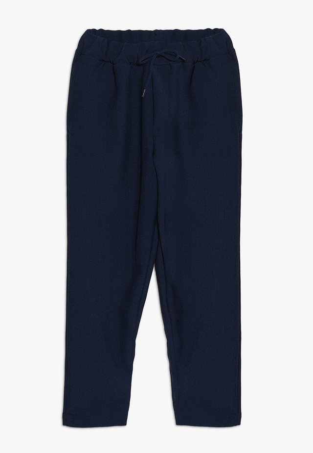 AMER PANTS - Stoffhose - blue nights