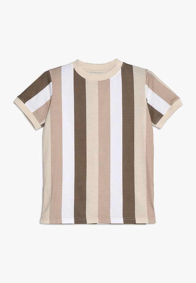 DEVON - T-shirt imprimé - sesame brown