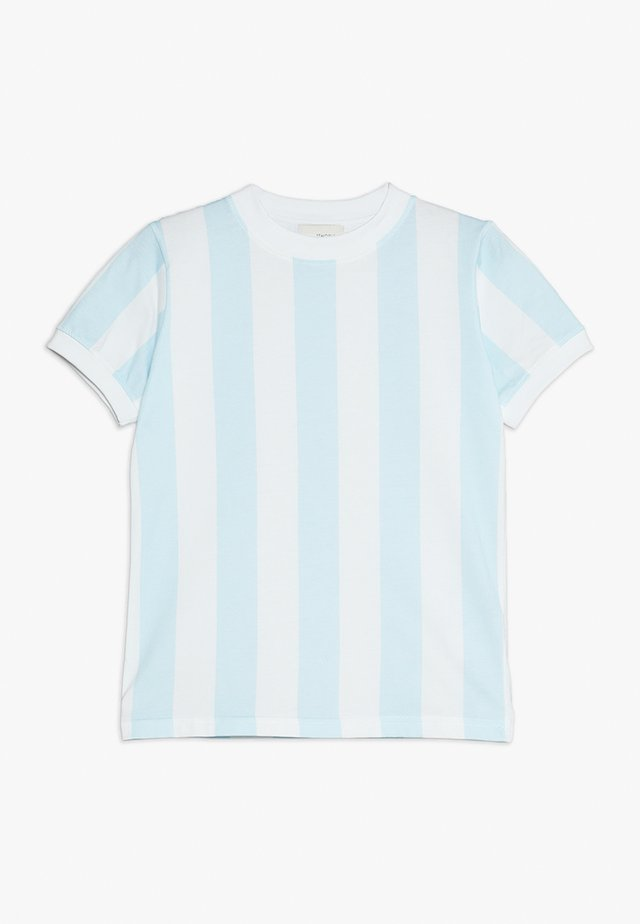 DEVON - Print T-shirt - omphalodes blue