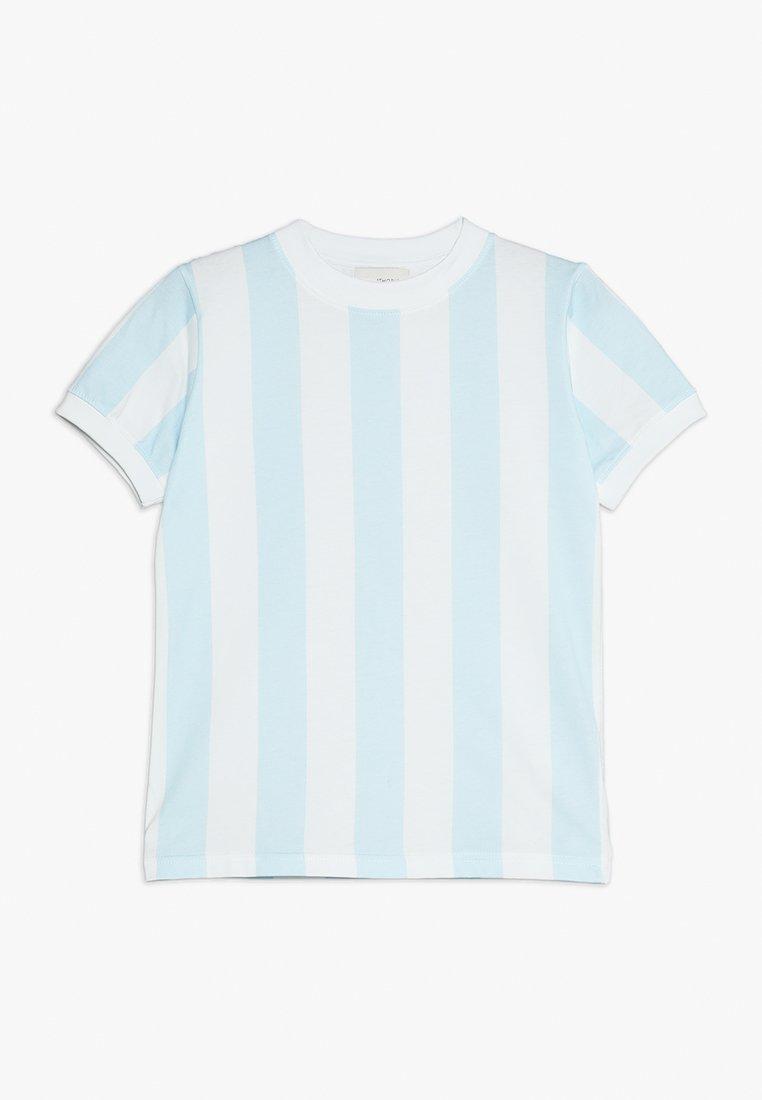 Unauthorized - DEVON - T-shirt z nadrukiem - omphalodes blue