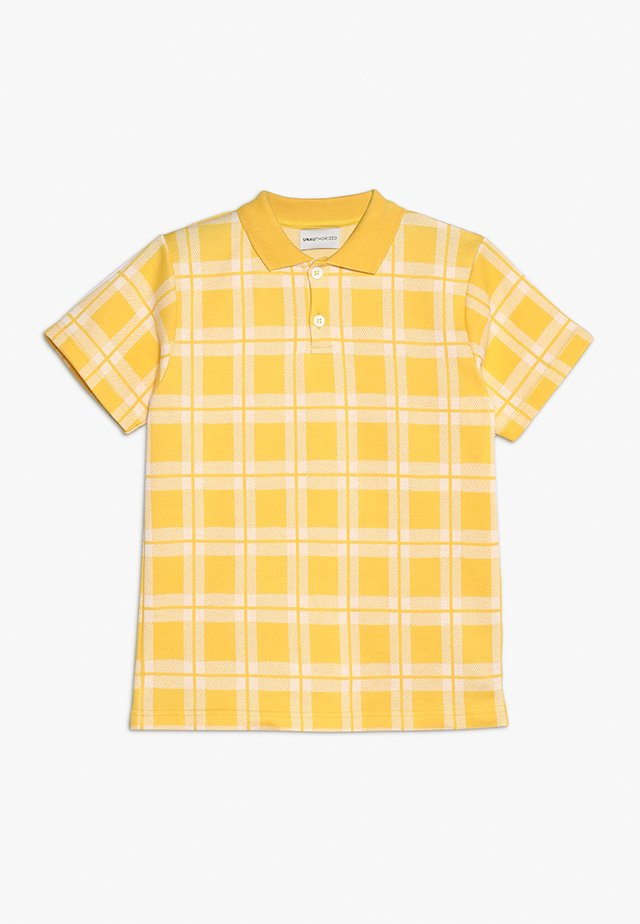 DANNY - Polo - yellow lemon