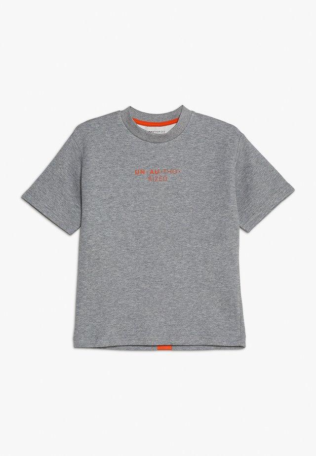 LUCAS - T-Shirt print - grey melange
