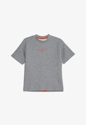 LUCAS - Print T-shirt - grey melange