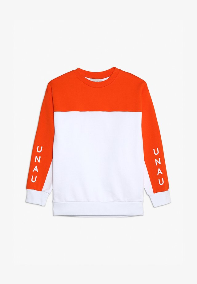 ANTON - Sweatshirt - white