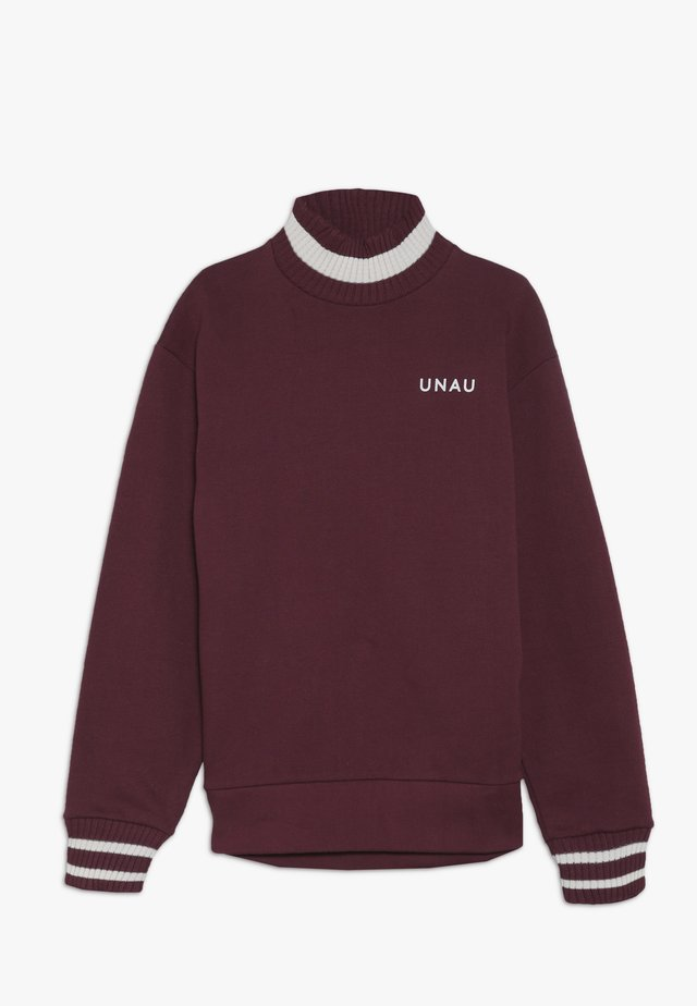 TED - Sweatshirt - burgundy