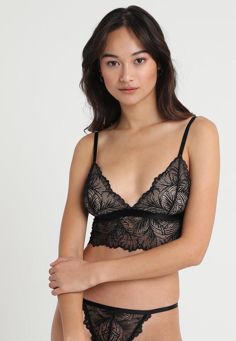 Underprotection - LIMA BRALETTE - Triangle bra - black