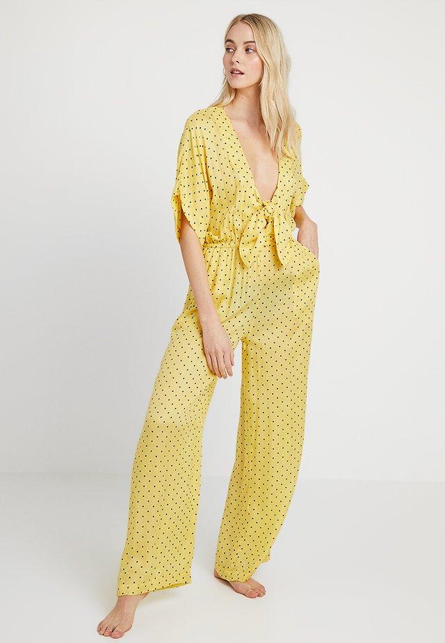 DONNA JUMPSUIT - Pyjama - yellow