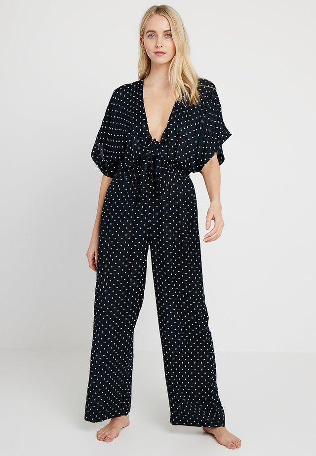 DONNA JUMPSUIT - Pyjama - black