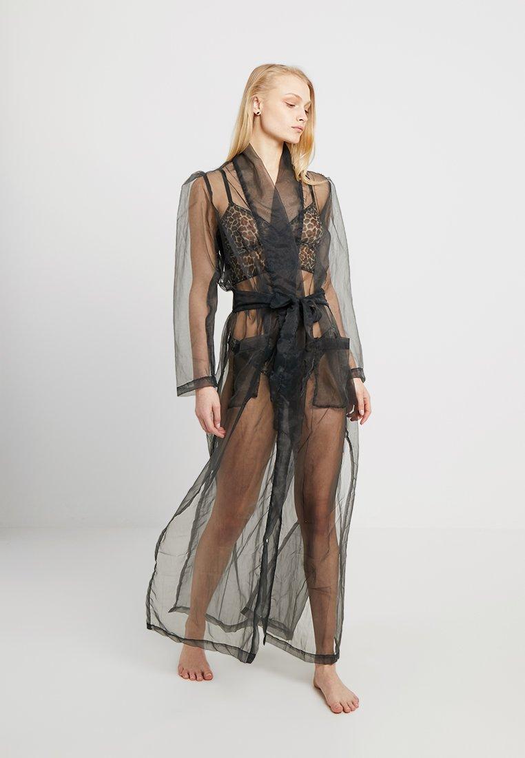 Underprotection - OFELIA ROBE - Dressing gown - black