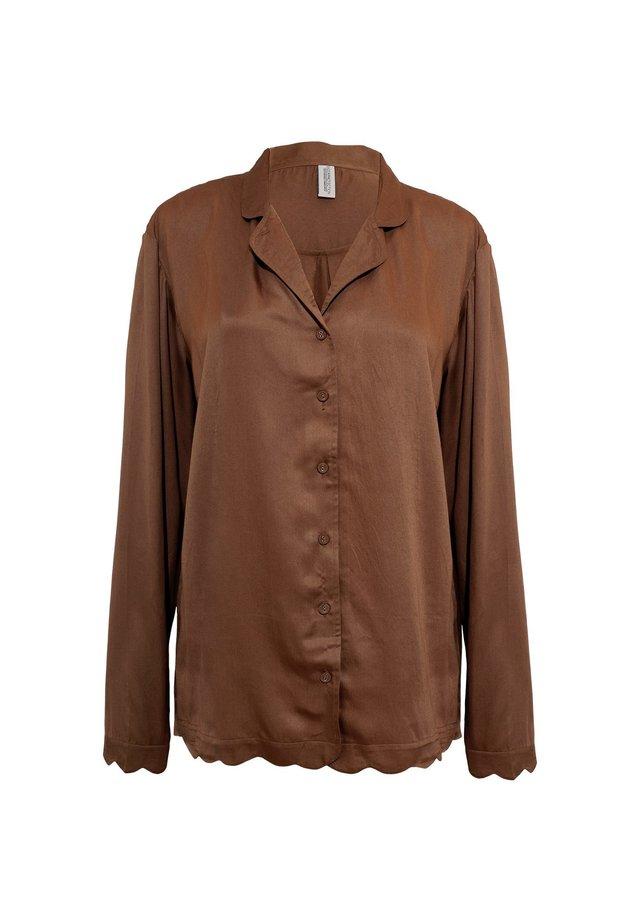Pyjamapaita - brown