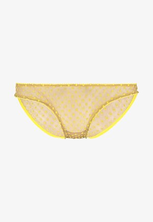 DONNA BRIEFS - Slip - yellow