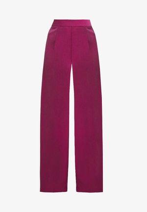 WIDE LEG TAILORED TROUSER - Kalhoty - fuchsia pink