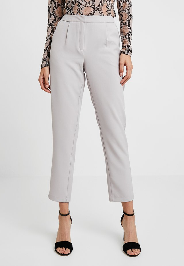 TAILORED TROUSER - Trousers - grey