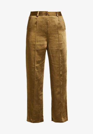 TAILORED TROUSERS - Pantalones - sage
