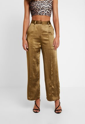 TAILORED TROUSERS - Broek - sage