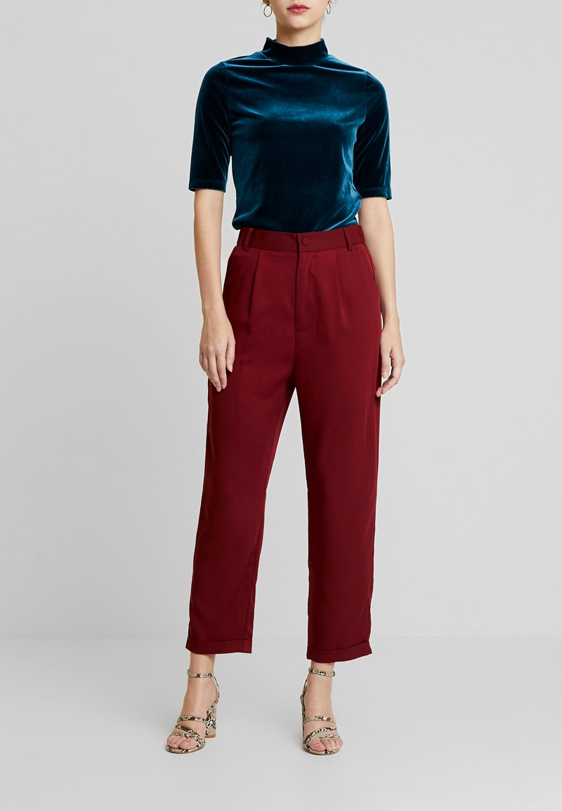 UNIQUE 21 - TAILORED TROUSER - Kalhoty - blush