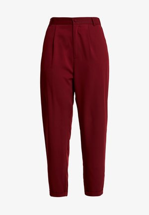 TAILORED TROUSER - Kalhoty - blush