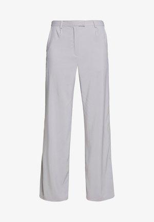 TAILORED CIGARETTE TROUSER - Kalhoty - grey