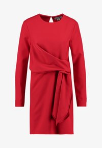 UNIQUE 21 - LONG SLEEVE DRESS TIE - Vestito estivo - red - 4