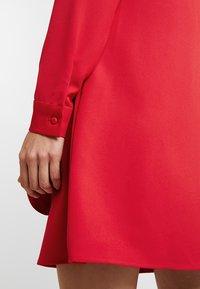 UNIQUE 21 - LONG SLEEVE DRESS TIE - Vestito estivo - red - 3