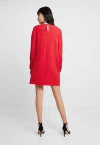 UNIQUE 21 - LONG SLEEVE DRESS TIE - Vestito estivo - red - 2