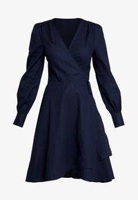 UNIQUE 21 - TAILORED WRAP DRESS - Robe d'été - blue - 4