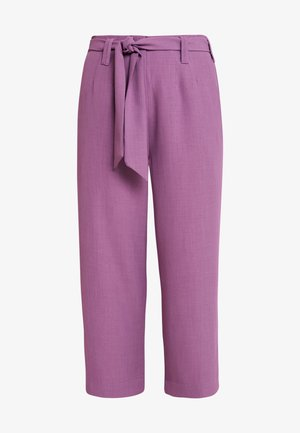 TAILORED TROUSERS - Kalhoty - purple