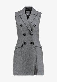 UNIQUE 21 - DRESS - Vestido camisero - grey - 5