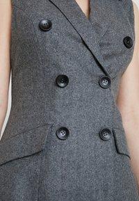 UNIQUE 21 - DRESS - Vestido camisero - grey - 6