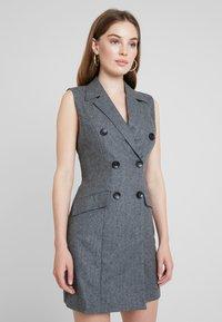 UNIQUE 21 - DRESS - Vestido camisero - grey - 0