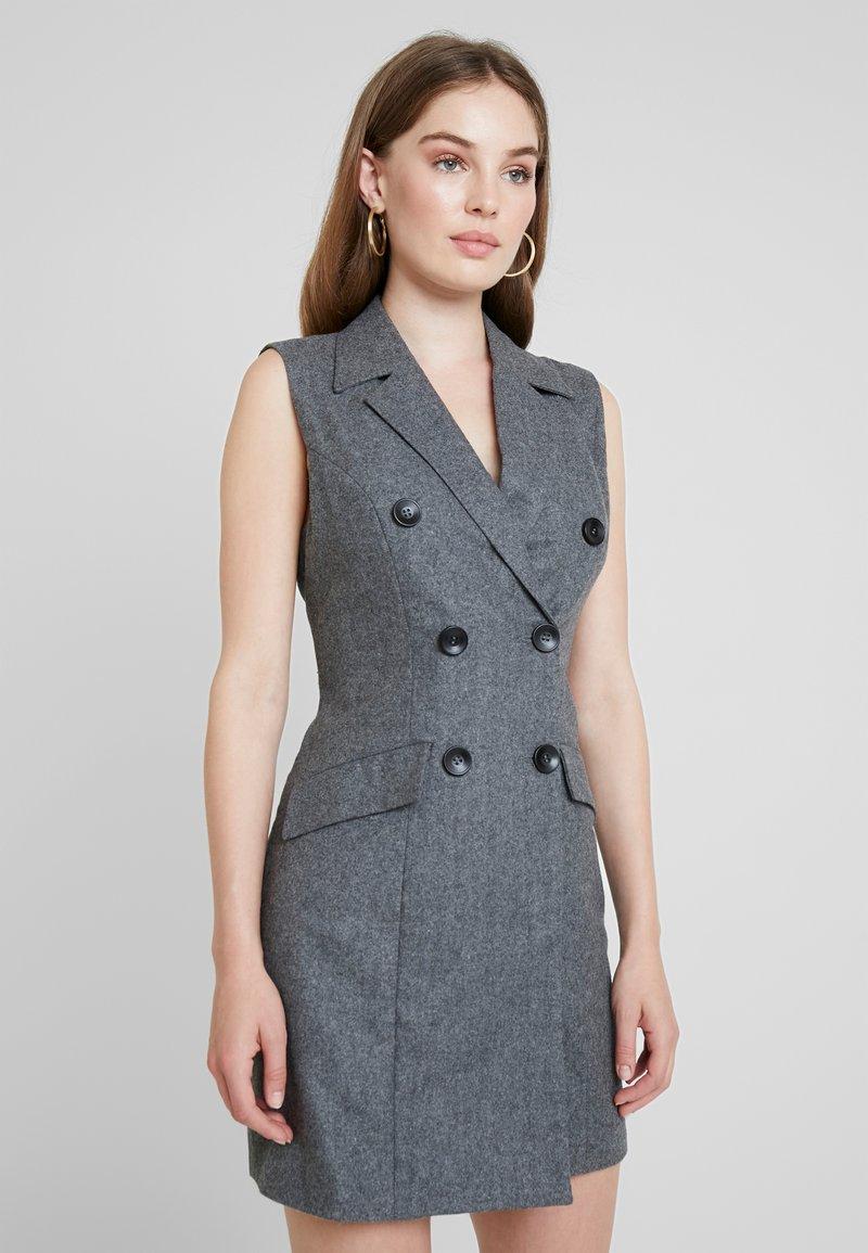UNIQUE 21 - DRESS - Vestido camisero - grey